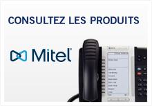 Produits Mitel systèmes téléphoniques et câblage