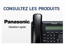 Produits Panasonic systèmes téléphoniques et câblage