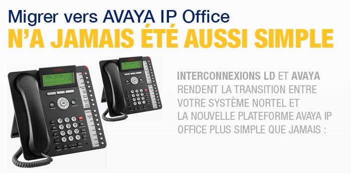 Avaya IP Office pour système téléphonique