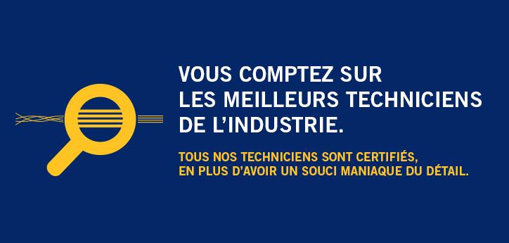 Techniciens certifiés en systèmes téléphoniques