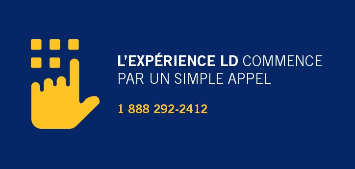 Communiquez avec nous : 1 888 292-2412