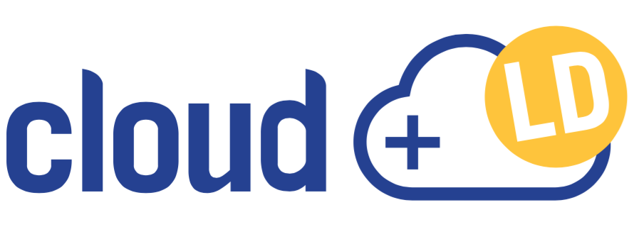 Logo cloud+ de LD