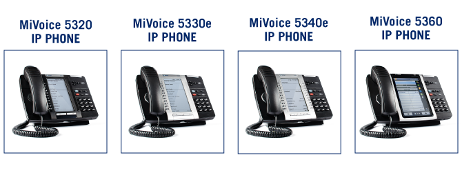 Mivoice IP Phone available for Cloud+ LD